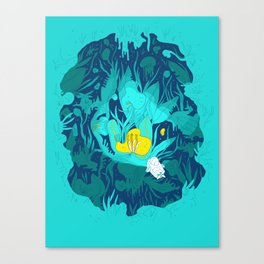 Undiscovered Wonder of the Sea Canvas Print