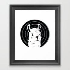 Llamalook Classic Framed Art Print