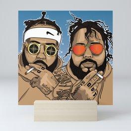 """""""Twinz"""" Mini Art Print"""