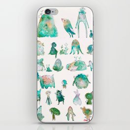 Forest Monsters iPhone Skin