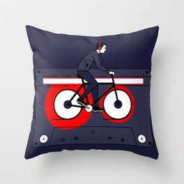Welcome to Your Tape Throw Pillow