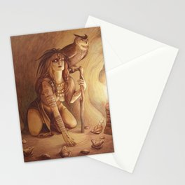 Owl - A Compendium of Witches Stationery Cards