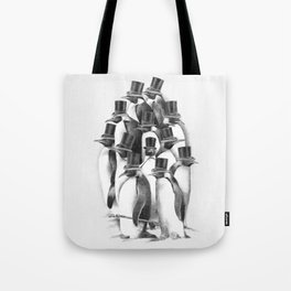 A Gathering of Gentlemen Tote Bag