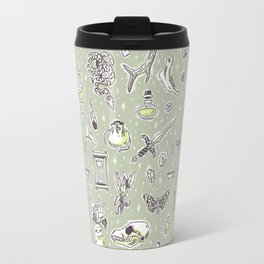 Witchcraft Pattern Travel Mug