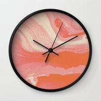Marble Y  II Wall Clock