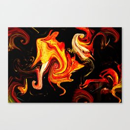 Universum Yello Canvas Print