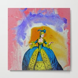 Marie Antoinette by Michael Moffa Metal Print