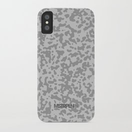 Comp Camouflage / Grey iPhone Case