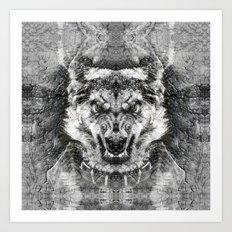 Dog I Art Print