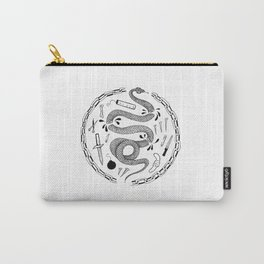 Snake in Chains Carry-All Pouch