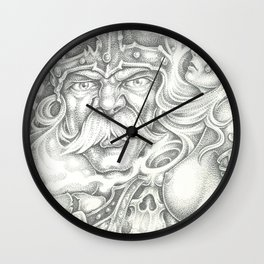 Viking 2 Wall Clock
