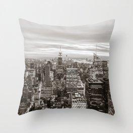 Infinite - New York City Throw Pillow