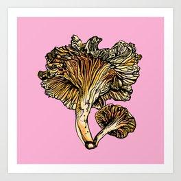 Chanterelle Art Print