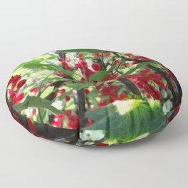 Super Fruit - We be jamming! Floor Pillow