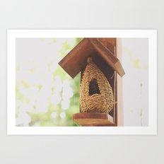 Bee Hive Art Print