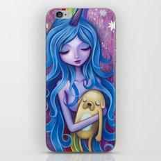 Lady Rainicorns Loving Arms iPhone & iPod Skin
