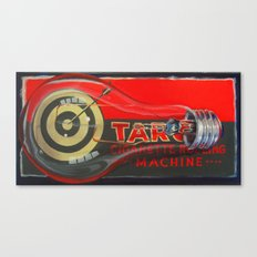 Cigarette Machine Canvas Print