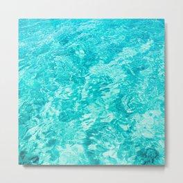 Sea Pattern Art Print Metal Print