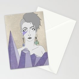 Crystals' Goddess Stationery Cards