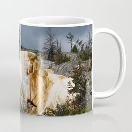 Mammoth Hot Spring Colors Coffee Mug