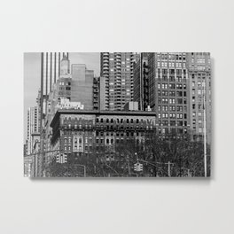Madison Square North Manhattan New York City Metal Print