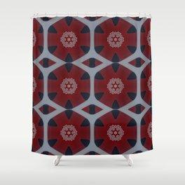 Celtic Knots Pattern Shower Curtain