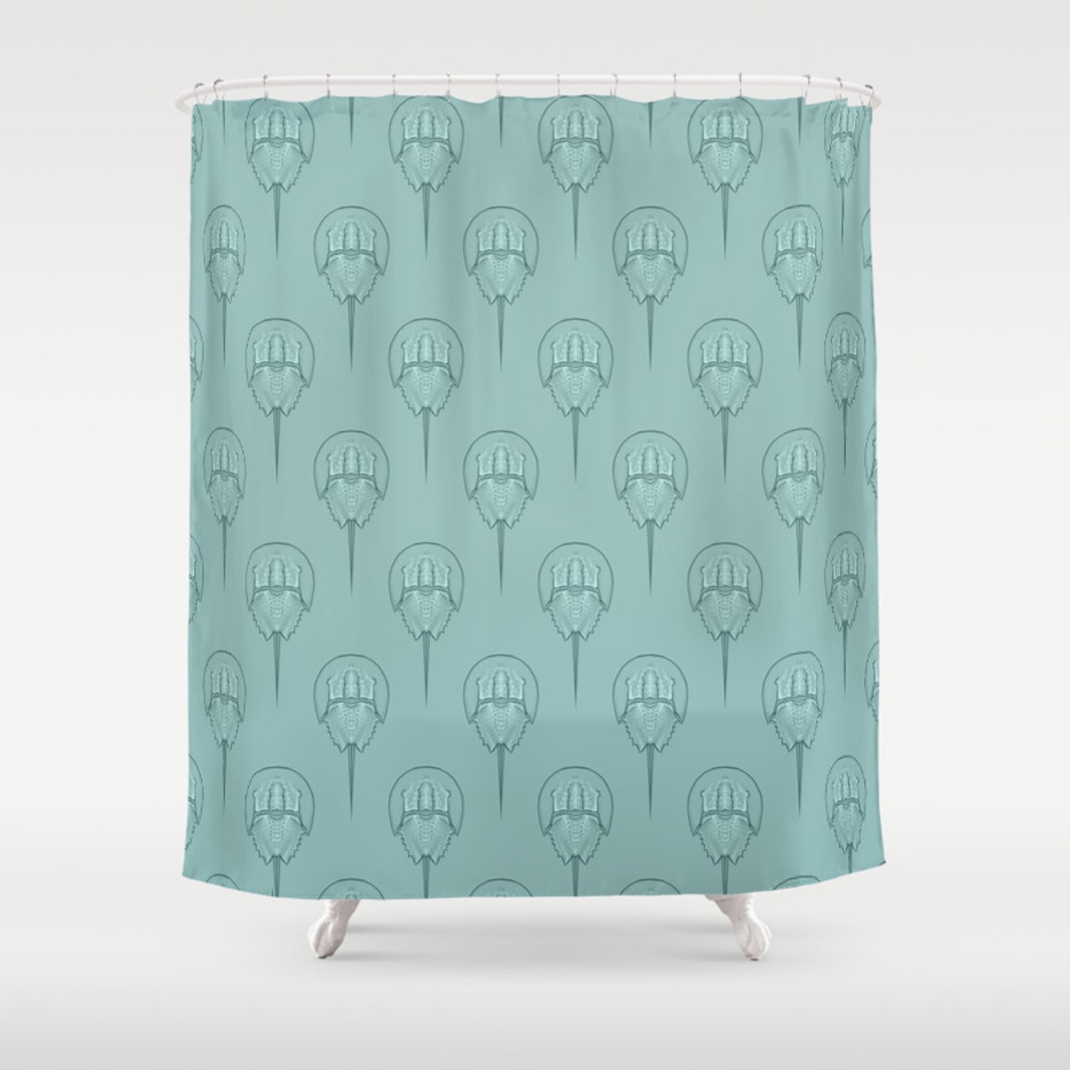 Horseshoes Shower Curtain