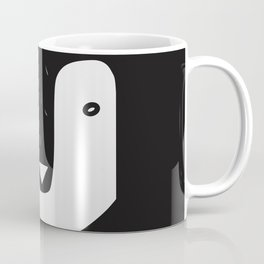 nordic penguin b/n Coffee Mug