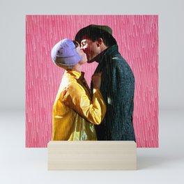 Singin' in the Rain - Pink Mini Art Print