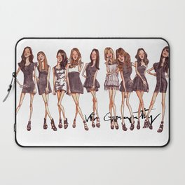 K-Pop Watercolor Laptop Sleeve