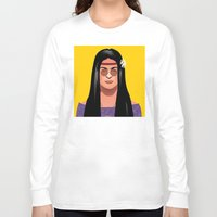 hippie Long Sleeve T-shirts featuring Frida hippie by alex figueroa