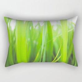 Summer is green Rectangular Pillow