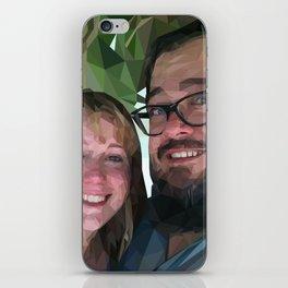 Camilea & John iPhone Skin