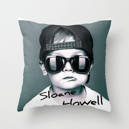 Sloane Howell Throw Pillow