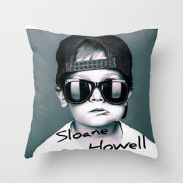 Sloane Howell Throw Pillow
