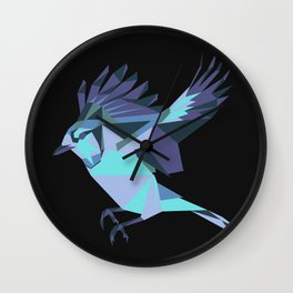 Origami Bird Wall Clock