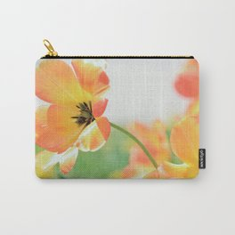 Bright Orange Tulips in Sunlight Carry-All Pouch