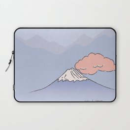 Mountain and cloud Laptop Sleeve