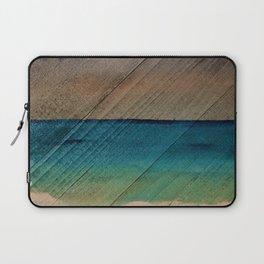 Stormy Beach Laptop Sleeve