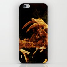 My corrupt crescendos will leave you out on a limbo iPhone Skin
