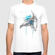 Kingfishers Mens Fitted Tee White MEDIUM