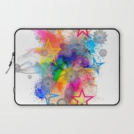 Color blobs by Nico Bielow Laptop Sleeve