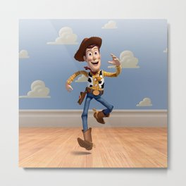 TOY STORY WOODY Metal Print