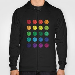 Basketball Multicolour graphic art Hoody