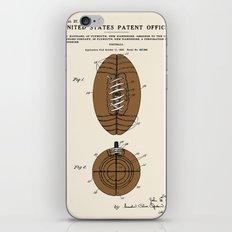 Football Patent iPhone & iPod Skin