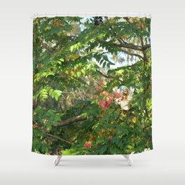 FAIRY Autumn Walk  Shower Curtain