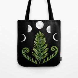 Moonlit Fern Tote Bag