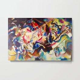 "Wassily Kandinsky ""Composition VI"" (1913) Metal Print"