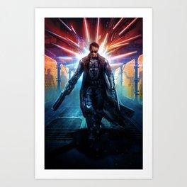 The Last Reaper Art Print