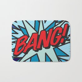 Comic Book Pop Art BANG! Bath Mat